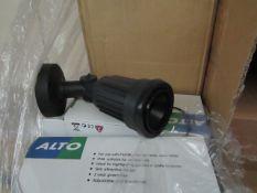 4x Alto - Outdoor IP44 Wall mounted Spot Light Suitable for Highlighting Garden, Patio, etc
