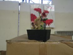 4x Small electric bird themed indoor water features - Unused & Boxed.