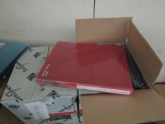 Box of 10 packs of Snopake Photo albums, each holds approx 144 photos - Unused & Boxed.