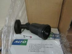 6x Alto - Outdoor IP44 Wall mounted Spot Light Suitable for Highlighting Garden, Patio, etc