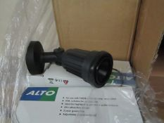 4x Alto - Outdoor IP44 Wall mounted Spot Light Suitable for Highlighting  Garden, Patio, etc