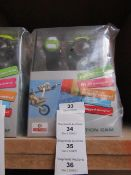 Action camera with various accessories AND REMOTE CONTROL WRIST STRAP, new and boxed.