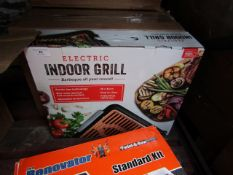 | 5x | ELECTRIC INDOOR GRILLS | BOXED AND UNCHECKED | RRP £- |