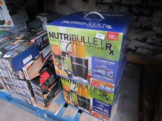 | 2x | NUTRI BULLET RX | BOXED AND UNCHECKED | RRP £119 EACH | TOTAL RRP £238 |