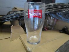 A pallet of approx 650 Pint Glasses