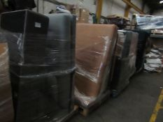   5X   PALLETS OF MADE.COM SOFA PARTS, THESE ARE ODD PARTS   please note all items and packaging