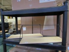   1X   COX & COX SET OF 2 SHELVES   UNCHECKED AND BOXED   RRP £104.99  