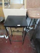   1X   SWOON WELLES STOOL   UNCHECKED AND PACKAGED   RRP ?119  