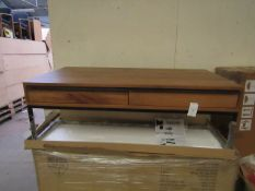   1X   COX & COX BAKER FURNITURE COFFEE TABLE   UNCHECKED & BOXED   RRP £-  