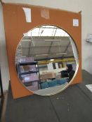   1X   COX AND COX SLIM FRAME ROUND MIRROR   LOOKS UNUSED (NO GUARANTEE) AND BOXED   RRP £275  