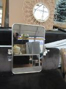   1x   COX & COX FRENCH RECTANGLE WALL MIRROR   LOOKS IN GOOD CONDITION HOWVEVER THIS IS MERELY