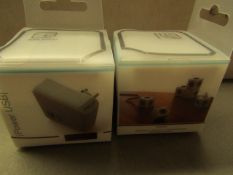 10x Allocacoc - High Power USB Port (110-240v Input / 5v USB 1,000mA) ( EU Plug) - New & Packaged.
