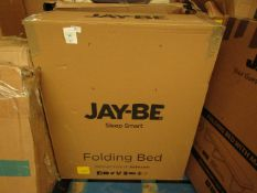 | 1x | JAY-BE SLEEP SMART FOLDING BED SINGLE | UNCHECKED & BOXED | NO ONLINE RESALE | SKU | RRP £