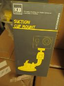 2x Kaiser Baas - Suction Cup Mount (Suitable for Mounting Action Camera) - New & Boxed.