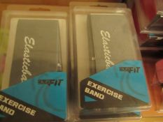 2x ClubFit - Exercise Band - New & Packaged.
