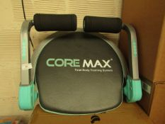 | 1x | CORE MAX TOTAL ABS TRAINING SYSTEM | UNTESTED & UNBOXED | NO ONLINE RE-SALE | SKU