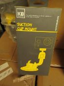 5x Kaiser Baas - Suction Cup Mount (Suitable for Mounting Action Camera) - New & Boxed.