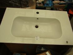 Ideal Standard 850 x 460mm, new and boxed.