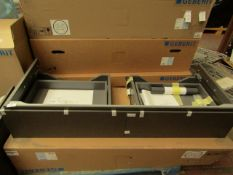 Geberit Xeno 117 .4 x 22 x 46.2cm. New and boxed. RRP £530