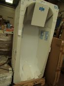 8x Roca Body Plus 1700 x 750 bath, new and packaged. Includes feet if necessary