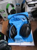 Turtle Beach Stealth 300 headphones, untested due to no power and boxed.