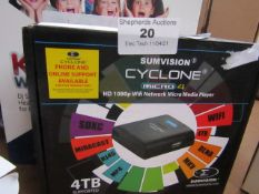 SumVision Cyclone Micro 4 HD 1080P Wifi Network Micro Media Player Unchecked & Boxed