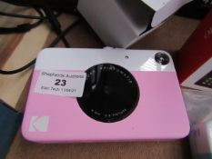 Kodak Printomatic 8mm 3:2 Picture Pink Unchecked & Boxed