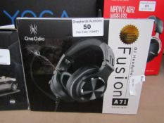 One Odio Fusion DJ headphones, unchecked and boxed.