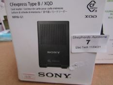 Sony Cfexpress Type B unchecked & Boxed