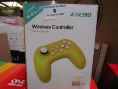 Zacro Wireless Controller For N-S & Lite Unchecked & Boxed