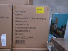   6X   POWER AIR FRYER 5L   UNCHECKED AND BOXED   NO ONLINE RE-SALE   SKU C5060191466936  RRP £99.99