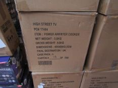 | 6X | POWER AIR FRYER 5.7L | UNCHECKED & BOXED | NO ONLINE RE-SALE | SKU C5060541513068 | RRP £