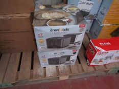 | 2X | DREW AND COLE 4 SLICE TOASTER | UNCHECKED AND BOXED | NO ONLINE RESALE | SKU - | RRP £69.99 |