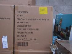 | 6X | POWER AIR FRYER 5L | UNCHECKED AND BOXED | NO ONLINE RE-SALE | SKU C5060191466936| RRP £99.99