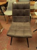 | 1X | COX & COX SOHO DINING CHAIR | LOOKS IN GOOD CONDITION (NO GURANTEE) | RRP £237 |