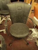 | 1X | COX & COX INDUSTRIAL STYLE OFFICE CHAIR - GREY | LOOKS FINE | RRP £325 |
