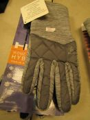 1 x pair of Head Womens Hybrid Gloves with Touch Screen Technology size Large New and Packaged