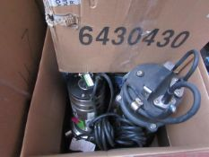 4x Various pumps This lot is a Machine Mart product which is raw and completely unchecked and