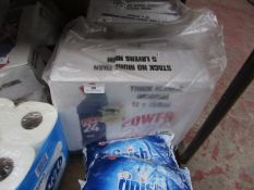 12x 750ml bottles of Power 24 bleach, in damged packaging and rebagged