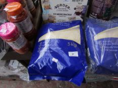 5Kg Bag of Aunt Caroline Basmati rice, BB Jan 2023