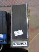 Volume retro guitar pedal, unchecked.please read lot 0 before bidding!!!!
