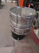 3x Drums, all used and rusty.please read lot 0 before bidding!!!!