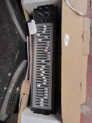 Phonic MQ4130 Graphic equaliser, looks unused but it is unchecked, in original boxed.please read