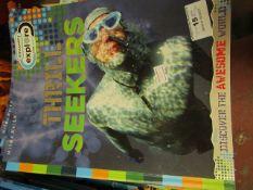 Approx 30x Thrill Seekers books, new.