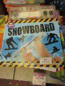Approx 12x Snowboard mini skills book, new.