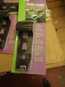 Box of 100x Handi-Hanki tissue box suction mounted holder's - New & Boxed.