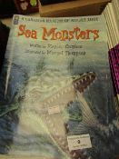 Approx 23x Sea Monsters books, new.