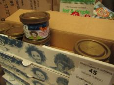 6x Boxes of 5 30ml Jovi make-up, new and boxed.