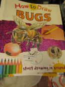 Approx 40x How To Draw Bugs books, new.