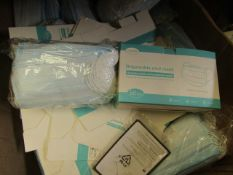Pack of 50x Disposable masks, new and packaged.